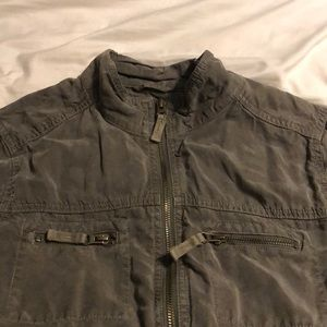 Army Green Mossimo Crop Jacket size L